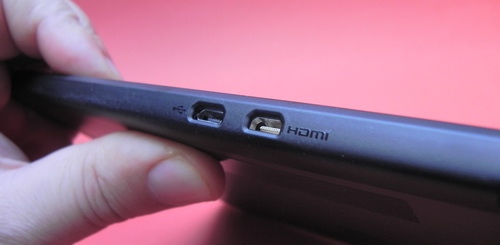 Motorola Xoom 2 - port HDMI si microUSB