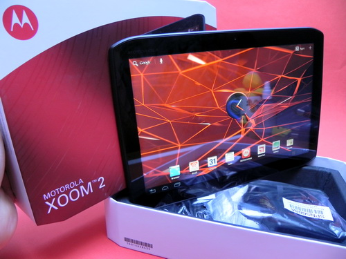 Motorola Xoom 2 scos din cutie la Mobilissimo.ro