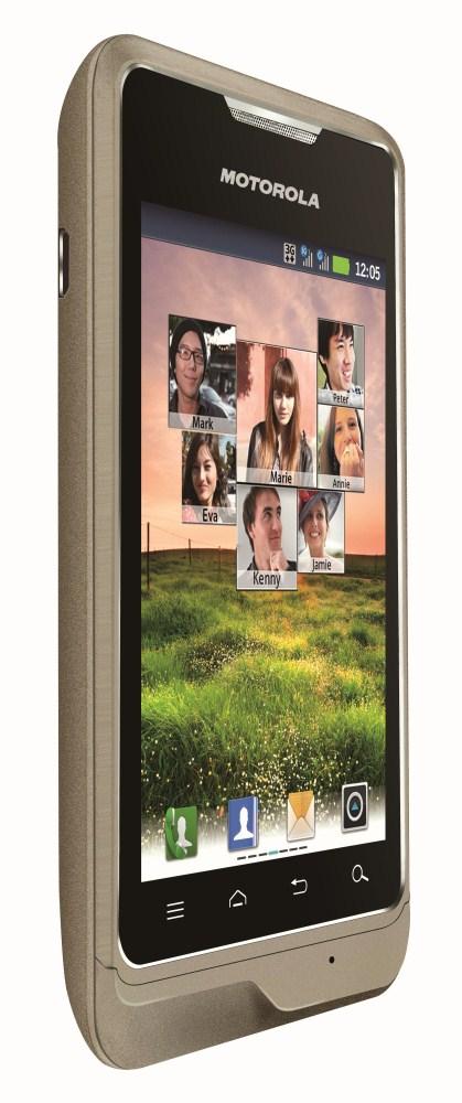 Motorola XT390 - smartphone dual-sim pentru China