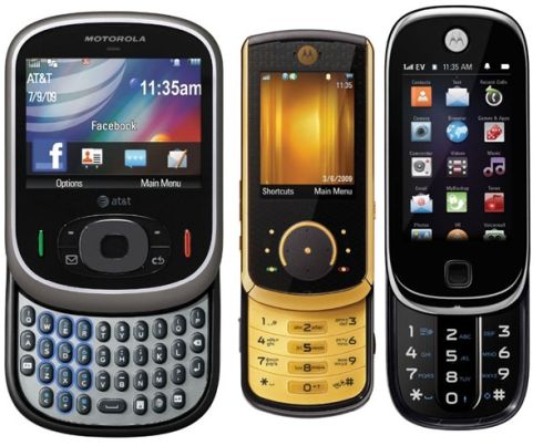Motorola pregateste 3 noi telefoane: QA4, QA1 si VE66LX