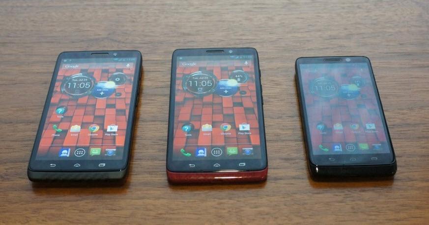 Motorola DROID Mini, Ultra și MAXX - le vrem importate și În România