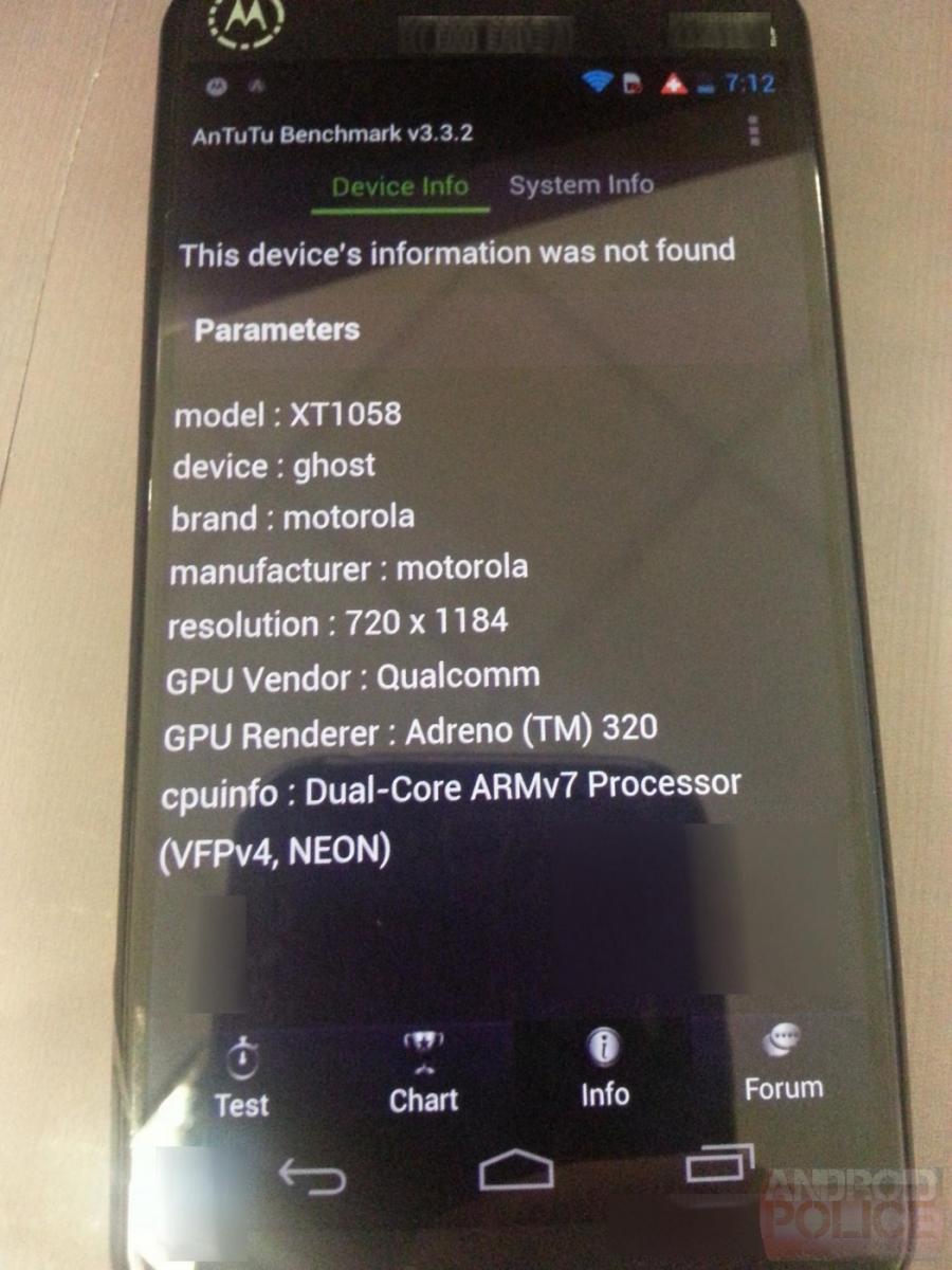 Motorola X prezent În prima imagine de presă, se lansează pe 1 august și ne oferă primul benchmark