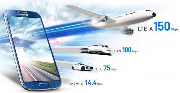 Samsung lansează oficial modelul Galaxy S4 LTE-A cu procesor Snapdragon 800