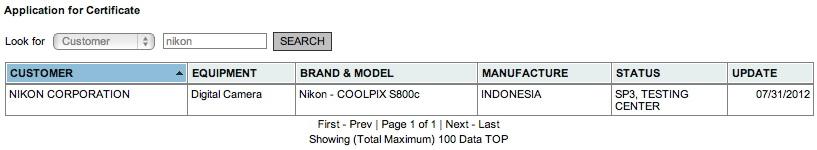Nikon Coolpix S800, prima cameră bazată pe Android confirmată de documente oficiale!