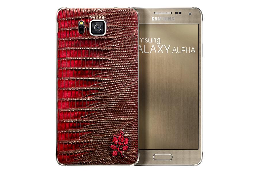 Samsung Galaxy Alpha primește o ediție limitată cu spate din piele, arată foarte elegant