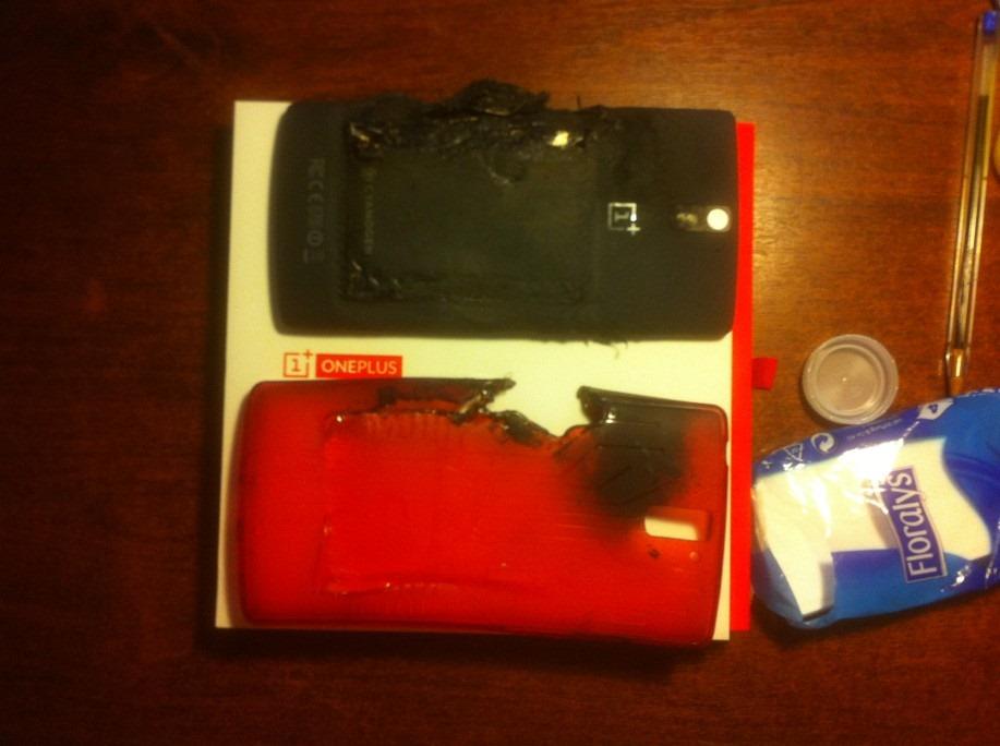 Primiți cu explozia? Bateria unui OnePlus One explodează În buzunarul unui utilizator, lasa și o cicatrice
