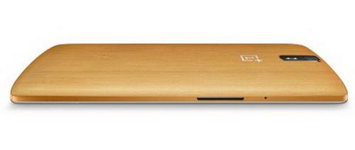 OnePlus One În varianta cu carcasă din bambus