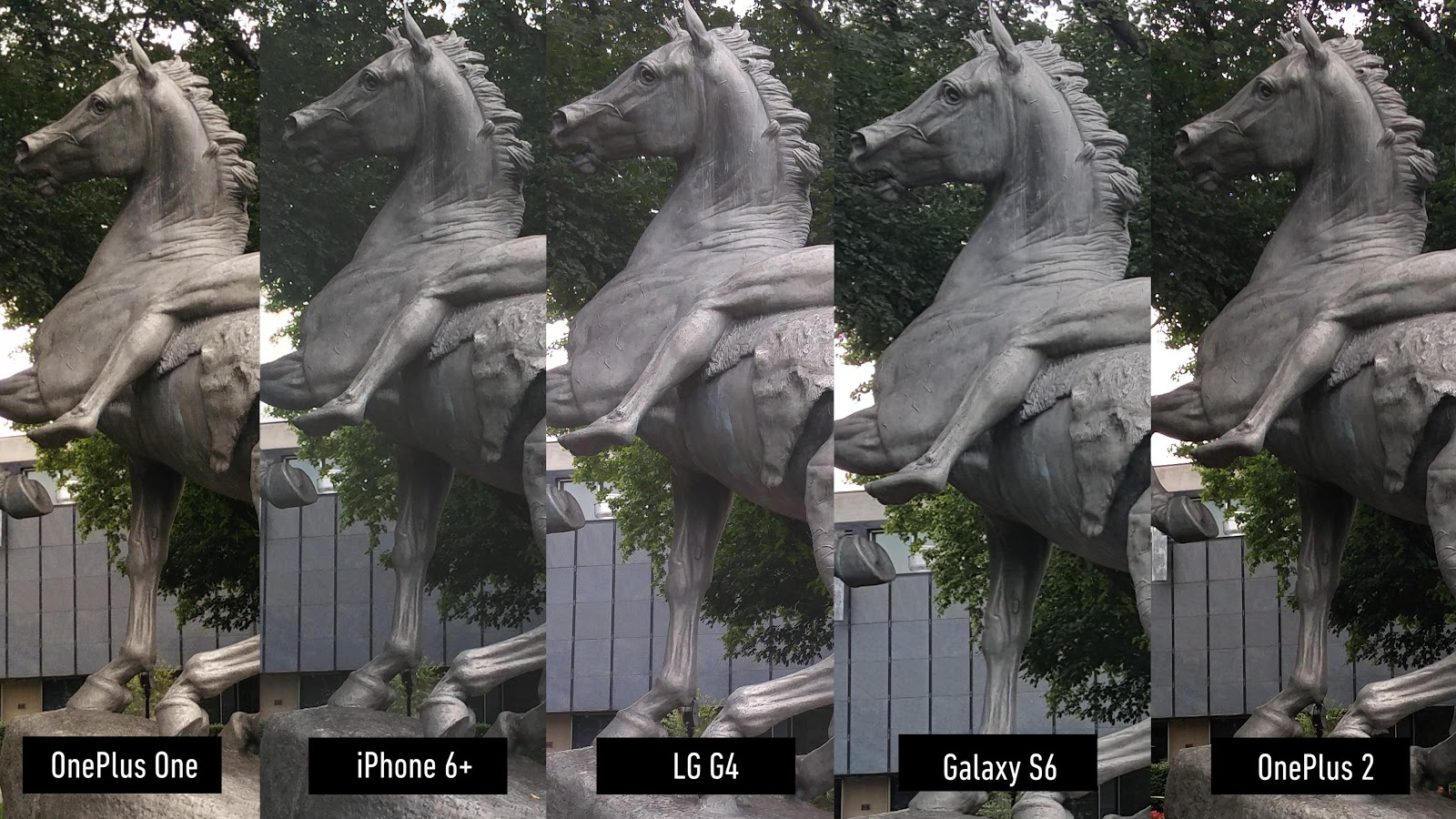 Comparatii foto OnePlus 2