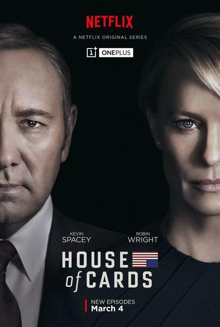 Telefoane OnePlus în House of Cards?! Doar în sezonul 4, printr-un parteneriat inedit