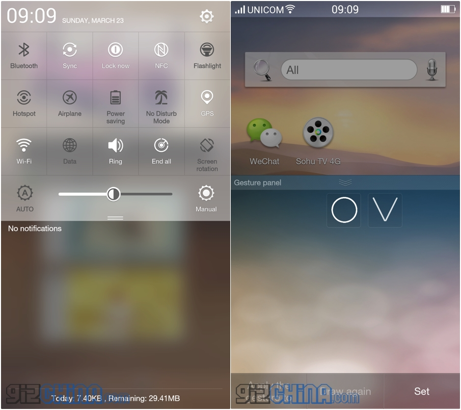 Noua interfață ColorOS 2.0 Beta de pe Oppo Find 7 prezentată pe scurt (Video)