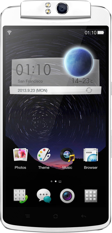 Oppo N1 anunțat oficial