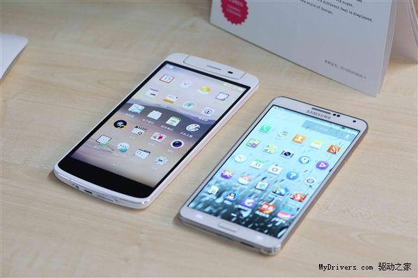 Oppo N1 comparat cu Samsung Galaxy Note 3