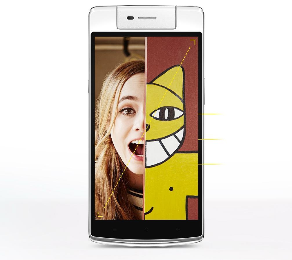 Oppo lansează oficial smartphone-ul high-end Oppo N3; acesta sosește cu senzor de amprente și o cameră foto rotativă de 16 megapixeli