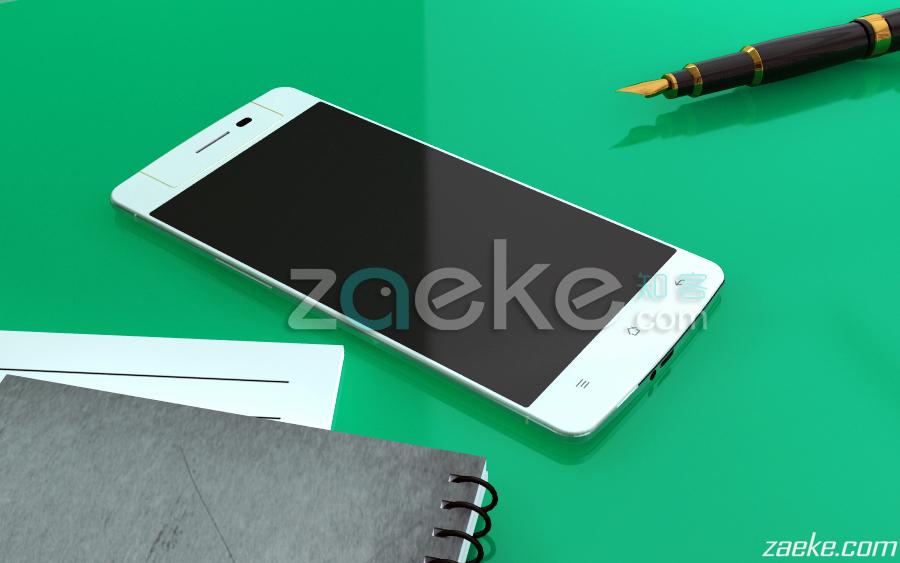 Oppo N3 apare Într-o serie de randari realiste, Împreună cu noi specificații