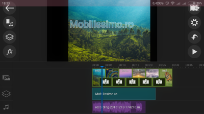 Editarea clipurilor video pe Android