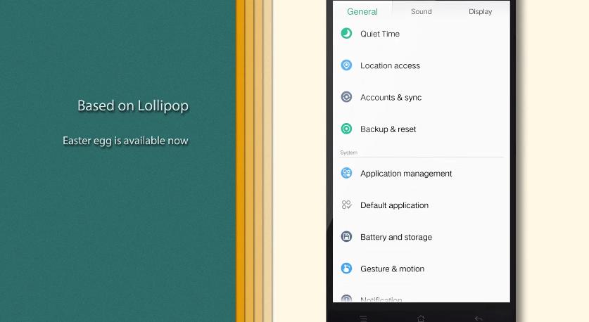 Oppo lansează oficial Color OS 2.1, bazat pe Android Lollipop (Video)