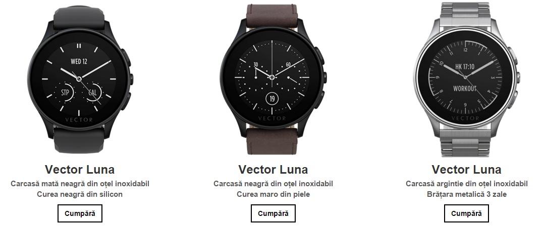 Vector Watch ajunge în oferta Orange România