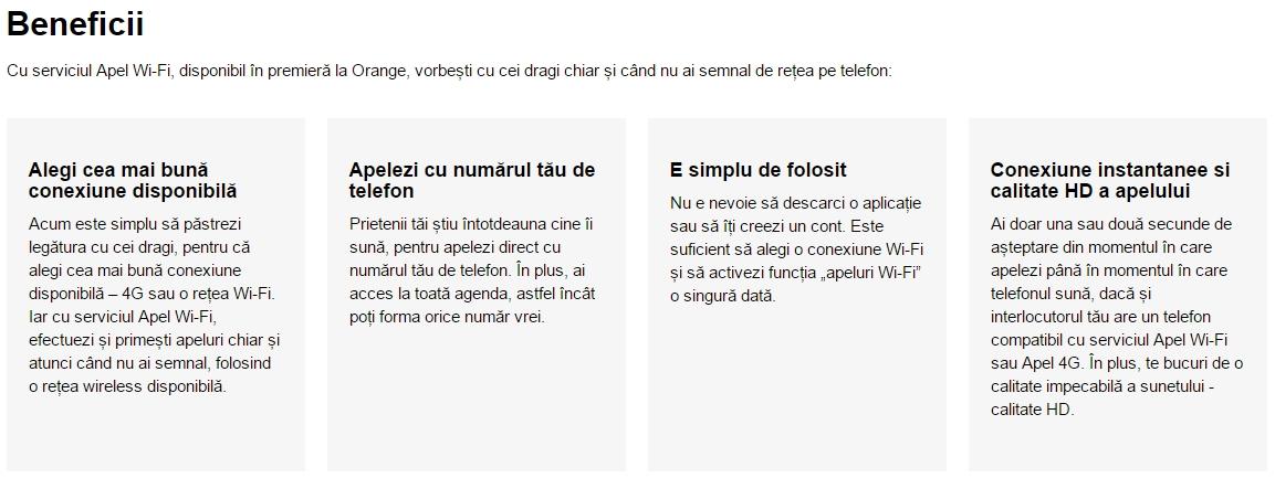 Orange România anunță lansarea serviciului Apel Wi-Fi; iată cum îl putem încerca