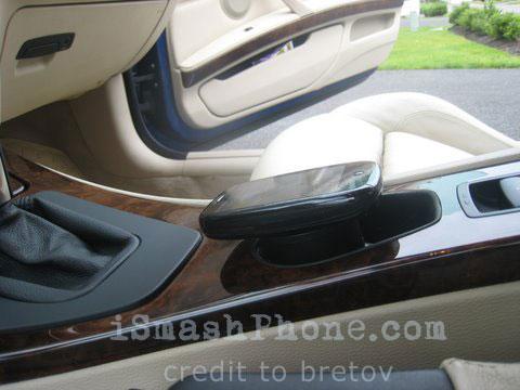 Palm Pre Touchstone incorporat intr-un BMW printr-un hack