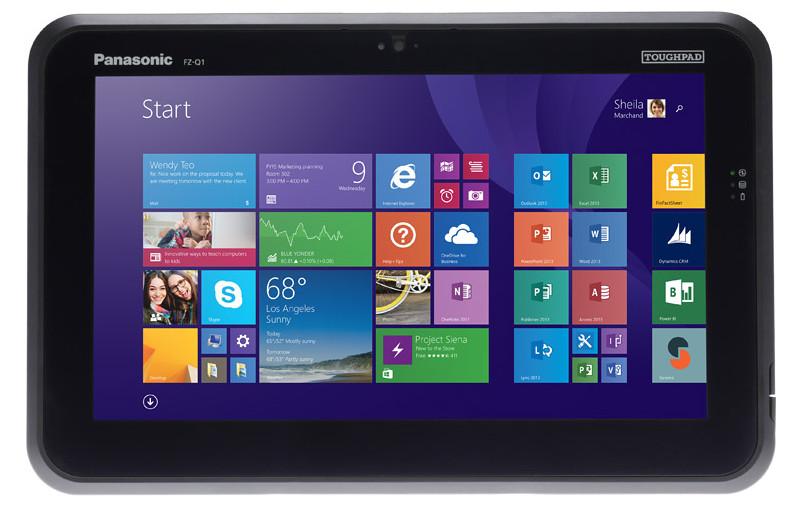CES 2016: Panasonic Toughpad FZ-Q1 este cea mai nouă tabletă rugged de pe piață