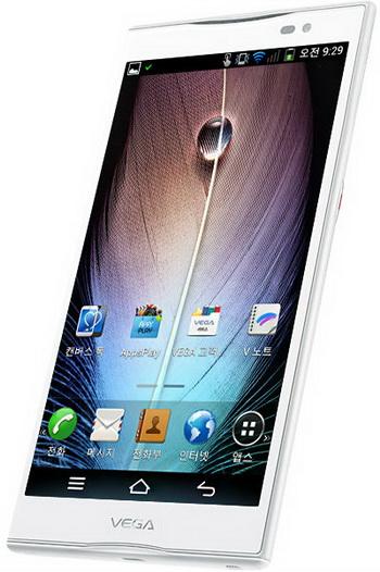 Pantech lansează un nou smartphone rezistent la apă, Vega Q și hitul sau de 5.9 inch, Vega No. 6