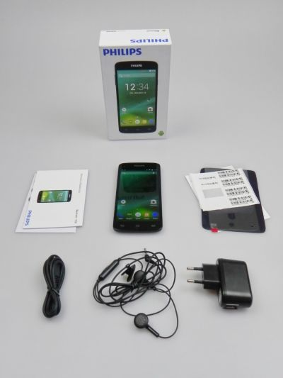 Philips Xenium I908 Unboxing