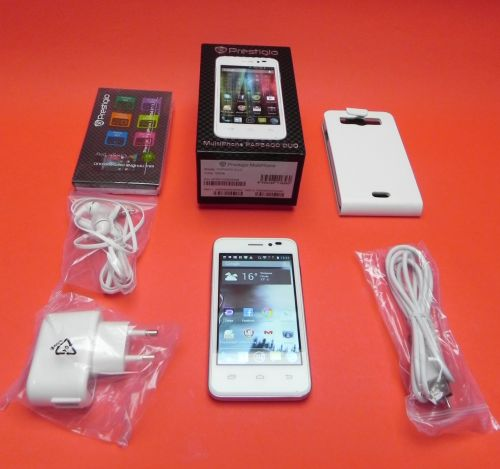 Prestigio Multiphone 5400 Duo unboxing