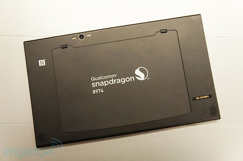 Tableta prototip cu Qualcomm procesor Snapdragon 800