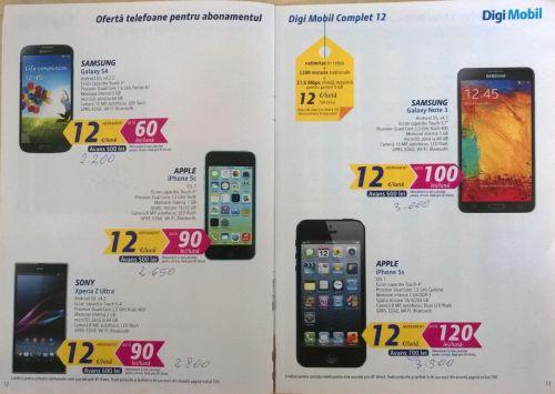 Oferta completă de telefoane Digi Mobil