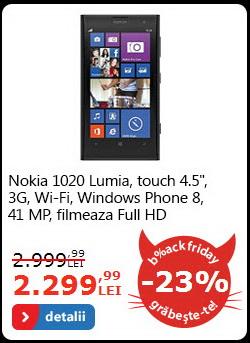 Nokia Lumia 1020 la reducere