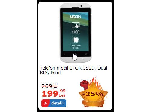 UTOK 351D la reducere