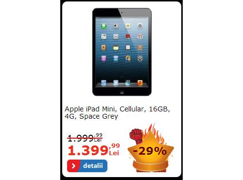 iPad mini la reducere