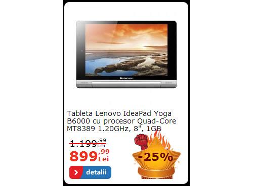 Lenovo IdeaPad Yoga 8 inch la reducere
