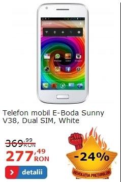 E-Boda Sunny V38 alb