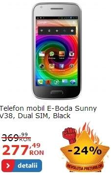 E-Boda Sunny V38 negru