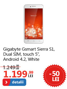 Pret Gigabyte GSmart Sierra S1