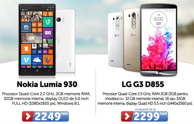 MarketOnline.ro se mai numără și Nokia Lumia 930