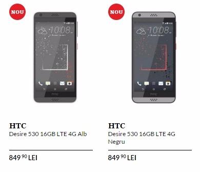 Pret HTC Desire 530