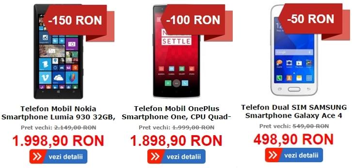 MarketOnline.ro dă startul campaniei de reduceri Black Week; iată cele mai atractive smartphone-uri
