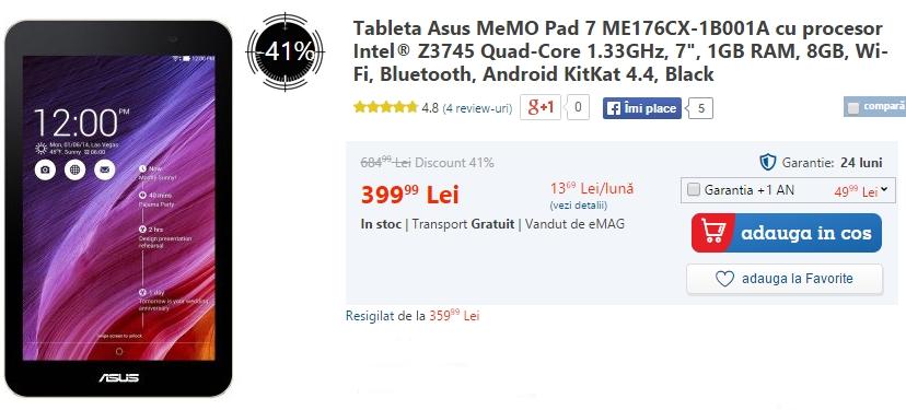 Asus MeMo Pad 7 ME176CX-1B001A