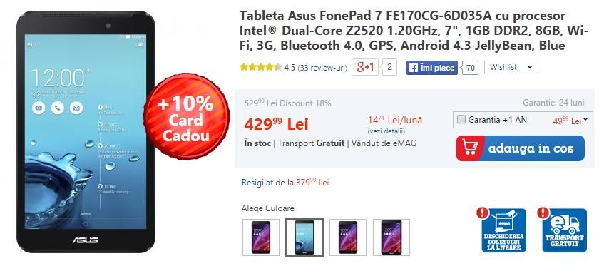 Asus FonePad 7 FE170CG-6D035A