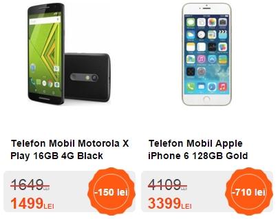 Cel.ro vine cu o nouă campanie de reduceri; iPhone 6 în varianta cu 128 GB primește un discount de 700 lei