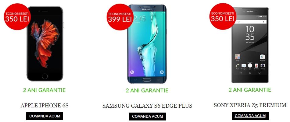 Reducerile Quickmobile de weekend sunt aici! Samsung Galaxy S6 Edge Plus costă acum 2.999 lei