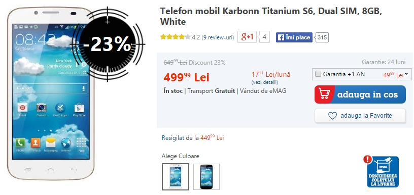 Karbonn Titanium S6