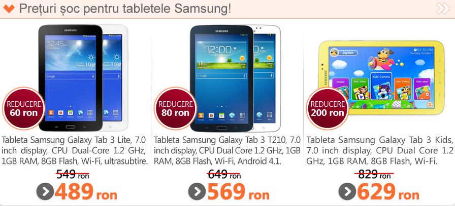Marketonline.ro oferă super-reduceri la telefoanele și tabletele Samsung!