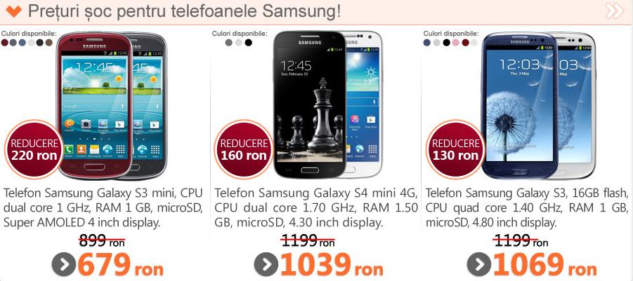 Samsung din 2012, Galaxy S3 este acum disponibil pentru doar 1.069 lei