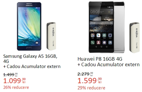 eMAG Mobile Days vine cu promoții speciale și cadouri la achiziția smartphone-urilor incluse în ofertă