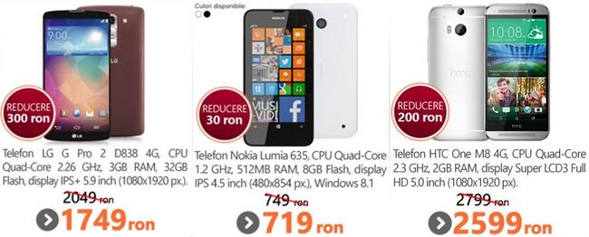 MarketOnline.ro oferă până la 30% reducere la telefoanele verii; Motorola Moto E disponibil la un preț de 549 lei