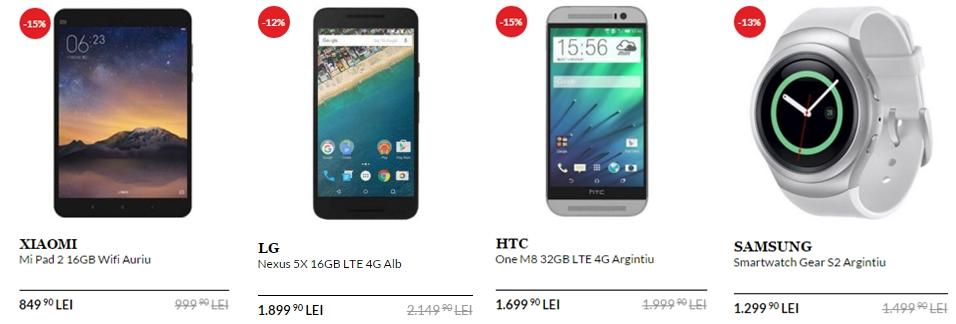 QuickMobile dă startul unui nou weekend de reduceri; Xiaomi Mi Pad 2 costă acum doar 849 lei