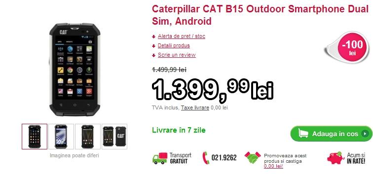 Caterpillar CAT B15